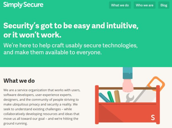 Simply Secure