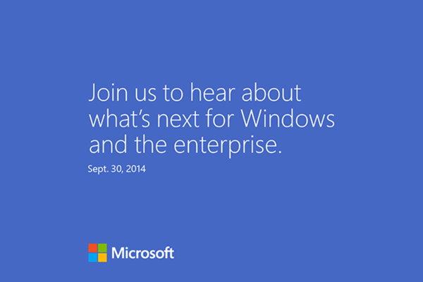 anuncio Microsoft Windows 9