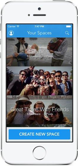 facebook moments compartir privado