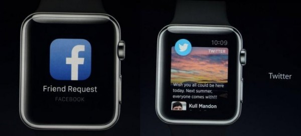 redes sociales apple watch