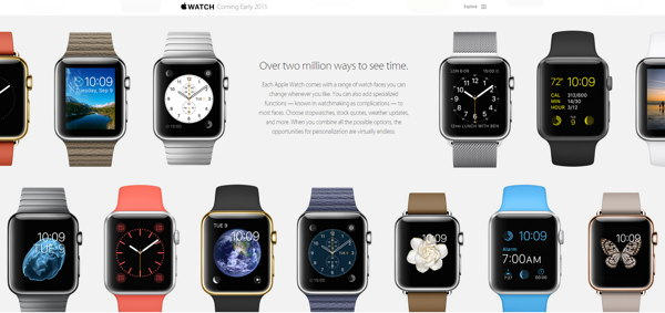 relojes apple watch