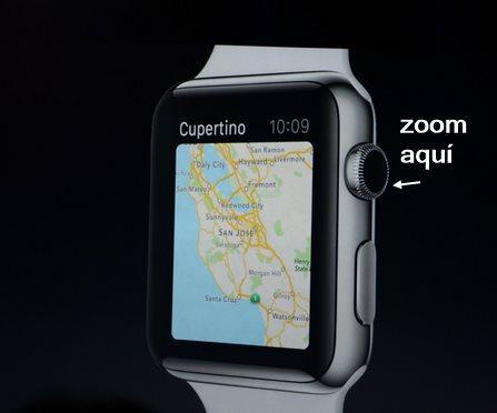 rueda apple watch