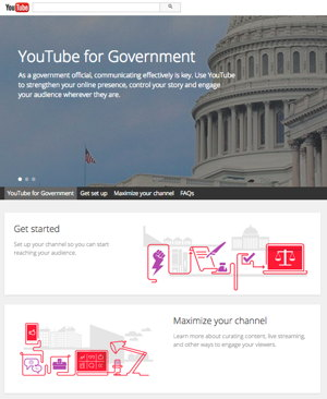 YouTube for Government