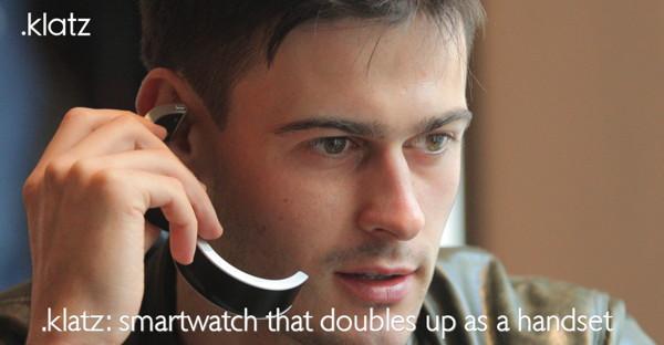 klatz smartwatch auriculares