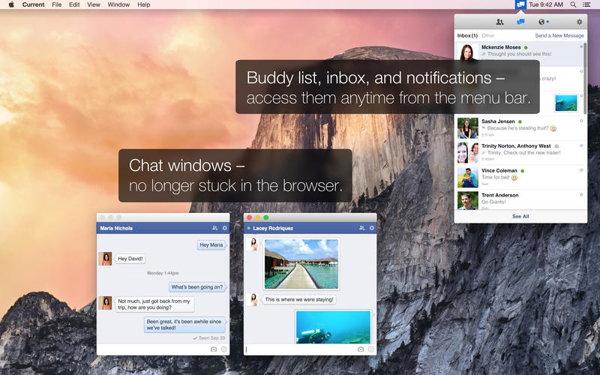 aplicacion de facebook para mac
