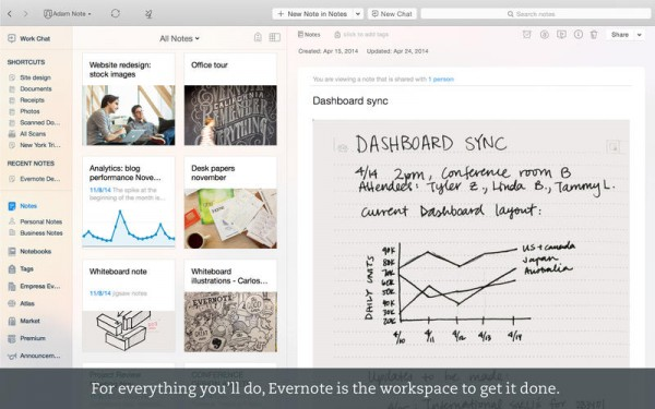 evernote 6 mac