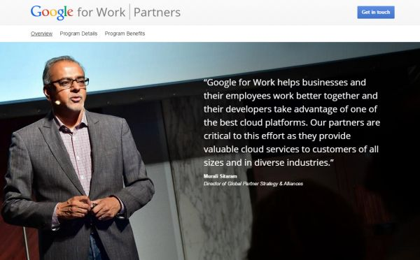 Google for Work and Education Partner Program