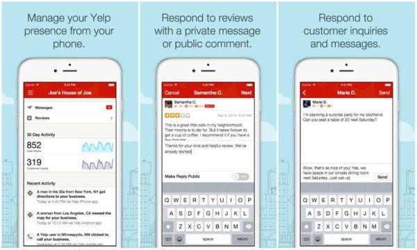Yelp para empresas