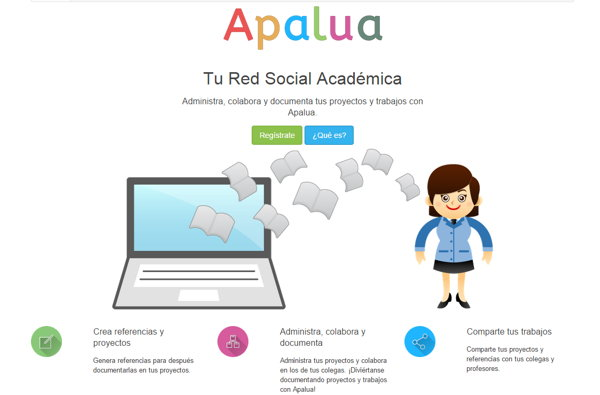 apalua red social academica