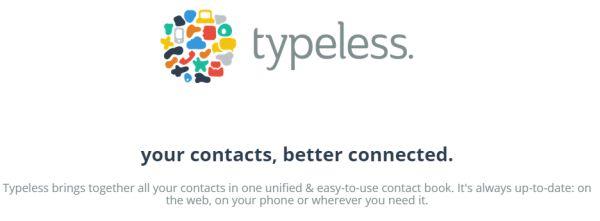 Typeless