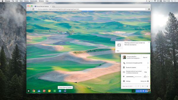 Chrome Remote Desktop para Chromebooks