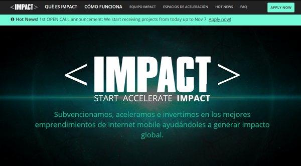 Impact aceleradora startups