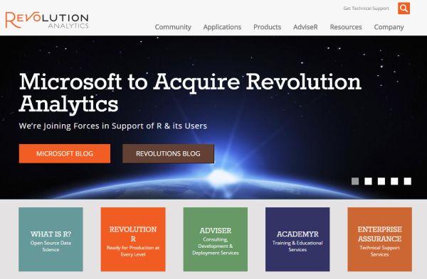 Revolucion Analytics