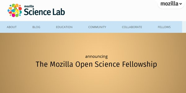 becas mozilla science lab
