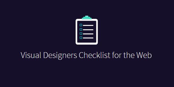 Lista de sugerencias para diseño
