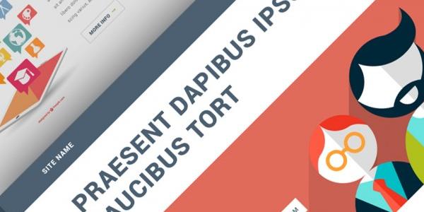 Plantilla PSD basado en Bootstrap, incluyendo fuentes Google gratuitas