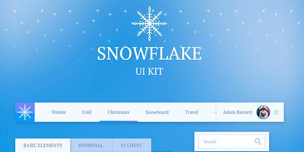 Snowflake: Un gran kit de interfaz para fin de año