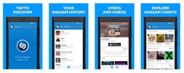 Shazam para Windows Phone