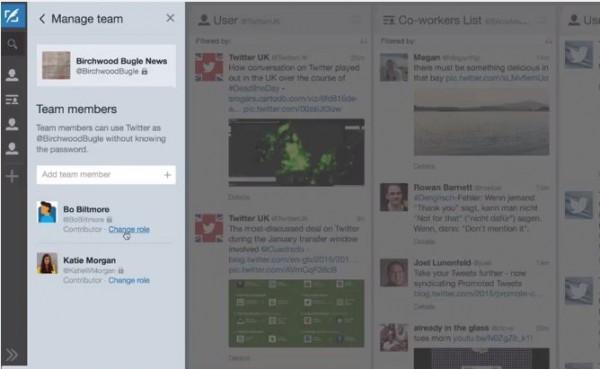 Twitter presenta Tweetdeck Teams, para compartir cuentas sin contraseñas