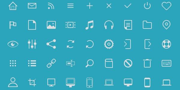Icono: Un Paquete De Iconos En Puro CSS