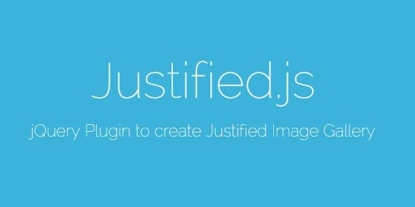 Justified.js: Galerías De Imágenes Justificadas