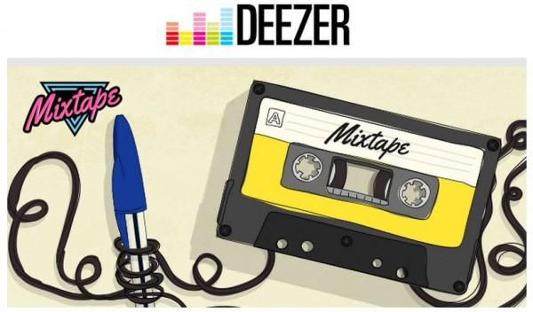 Mixtape y Deezer nos permiten crear y compartir listas de músicas