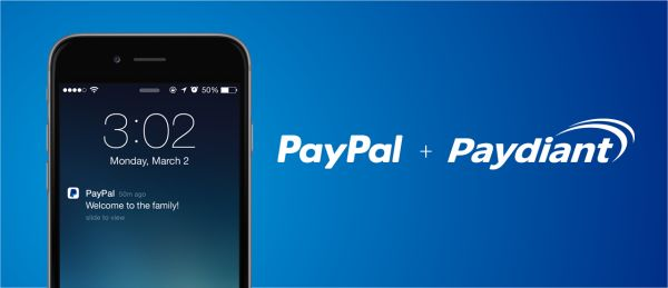 Paypal + Paydiant