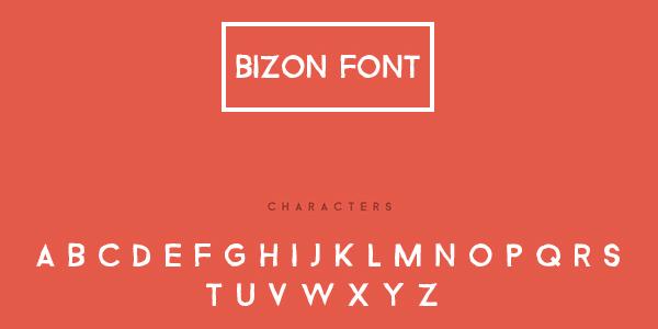 Bizon: Una Bonita Fuente Con Un Toque Artesanal