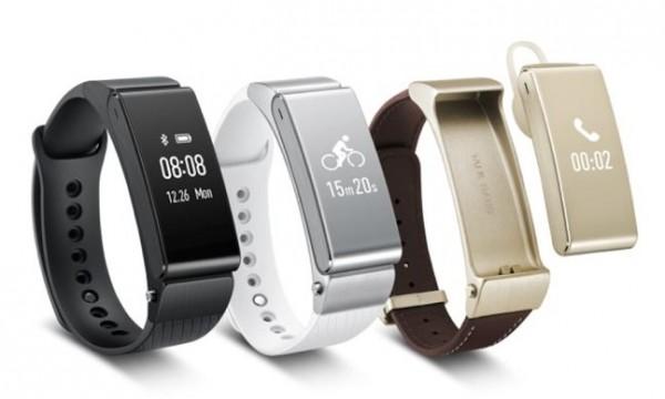 Huawei presenta su nueva pulsera inteligente y los N1, sus auriculares con acelerómetro y música