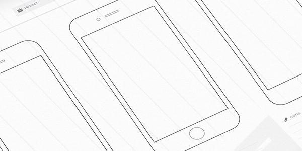 Diseños De Wireframes En Sketch, Listos Para Impresión