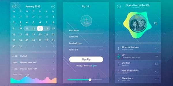 Zen UI Kit: Hermoso Paquete De Diseño Móvil Enfocado En IOS