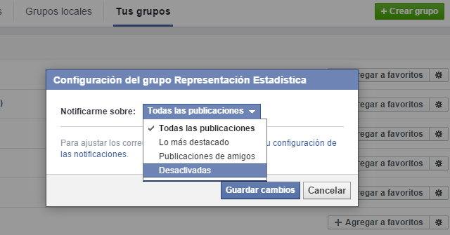 4 3 notificaciones grupos