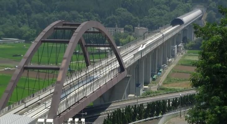 Tren de levitación magnética de Japón alcanza los 590 km/h y supera récord mundial de velocidad