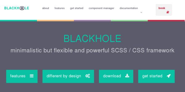 Blackhole: Un Flexible Framework Para Sass Y CSS