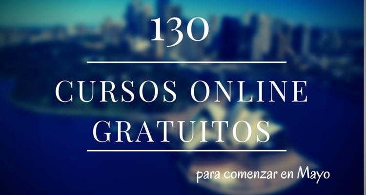 cursos universitarios, online y gratuitos para mayo