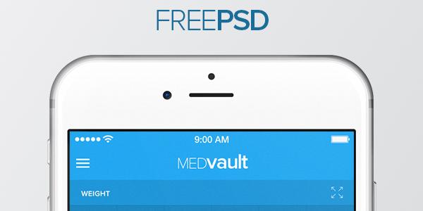 MEDvault: PSD Para Apps