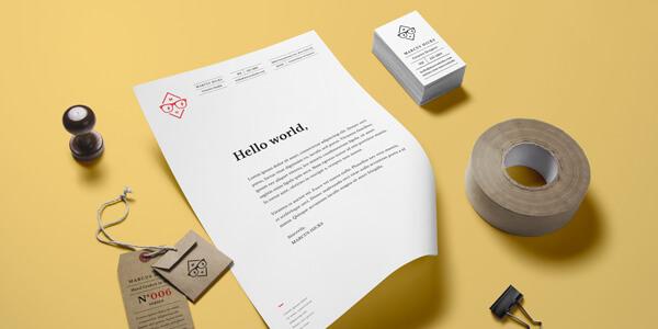 Mockups De Branding E Identidad En PSD