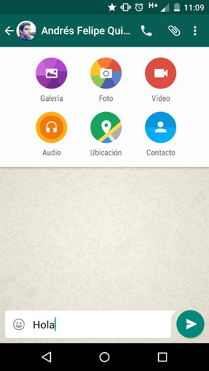 nuevo whatsapp android lollipop