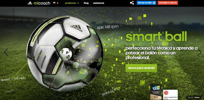 adidas smart ball android