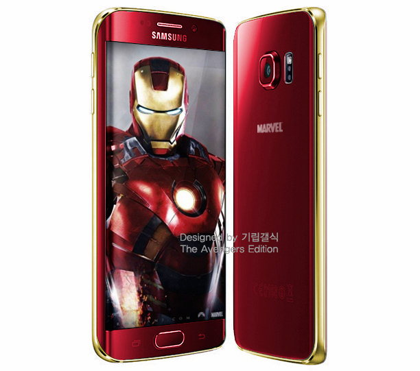 galaxy s6 estilo iron man