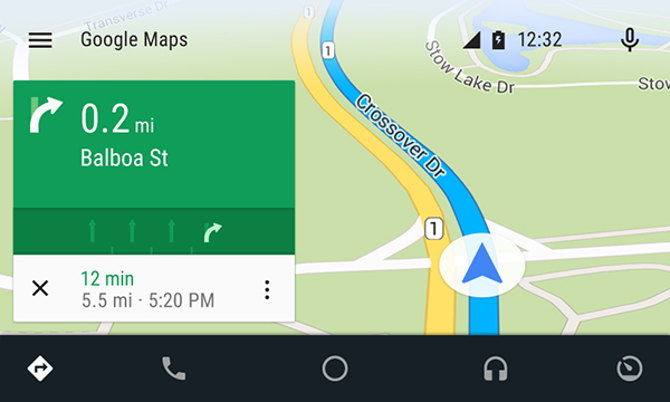 mapas android auto