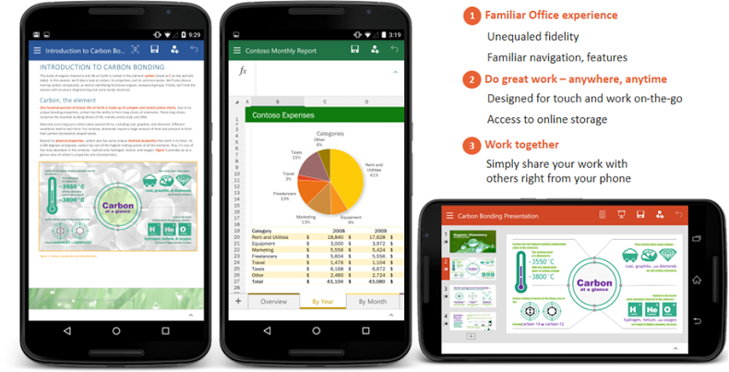 office moviles android