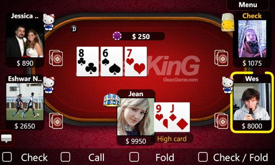 poker wp8