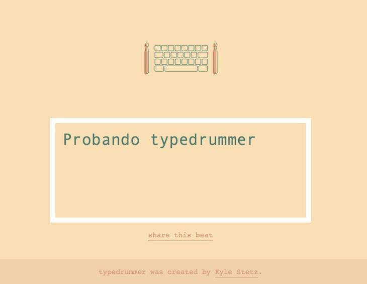 typedrummer