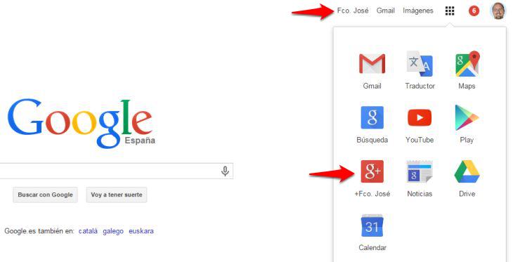 Google elimina los enlaces al perfil de Google+