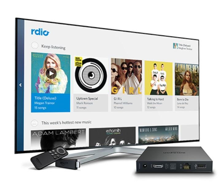 Rdio-FireTV