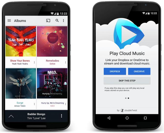 cloudplayer musica dropbox