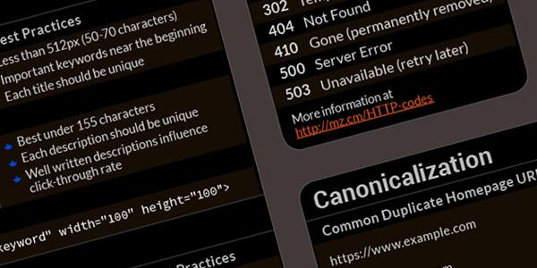 Hoja De Trucos De SEO Para Desarrolladores Web