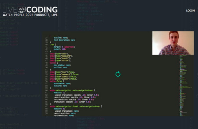 livecoding twitch programadores