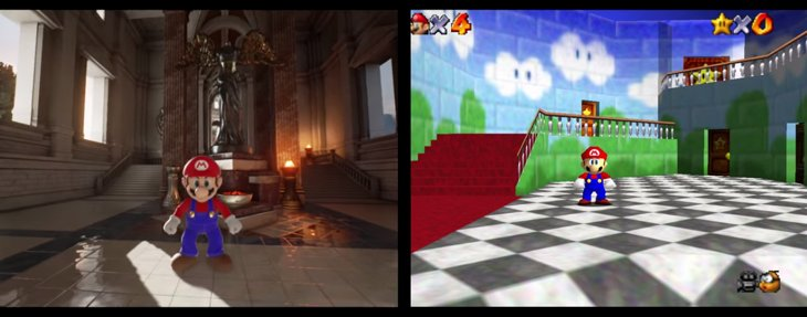 mario 64 unreal engine